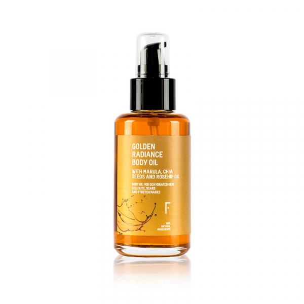 Golden Radiance Body Oil - Freshly Cosmetics