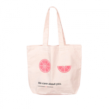Tote bag 'We care about you'