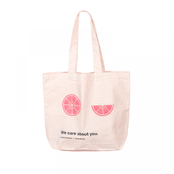 Canvas bag 'We care about you'