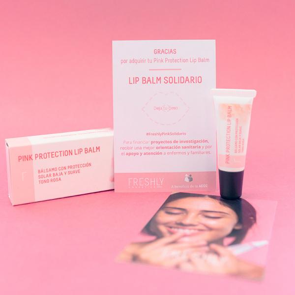 Lip Balm Solidario - Pink Protection Lip Balm