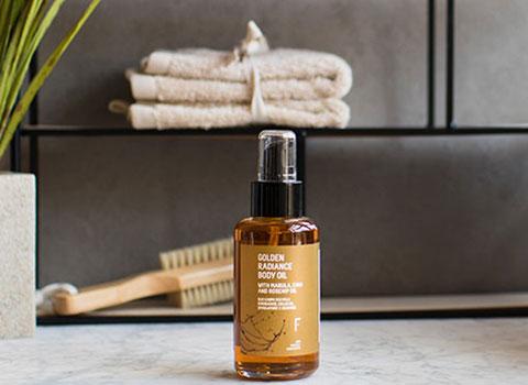 Golden Radiance Body Oil Freshly Cosmetics