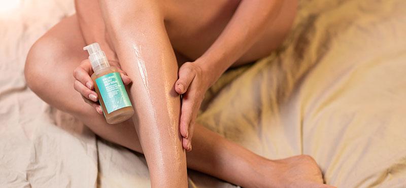 Sérum para piernas cansadas embarazadas Freshly Cosmetics