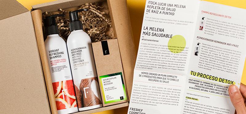 Rutina para cabello saludable Freshly Cosmetics