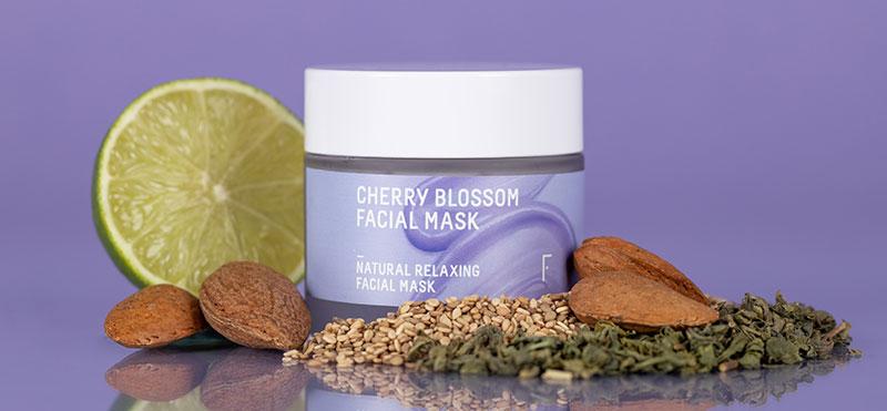 Mascarilla Facial Cherry Blossom Freshly Cosmetics