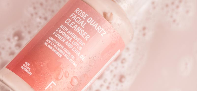 rose quartz facial cleanser freshly cosmetics