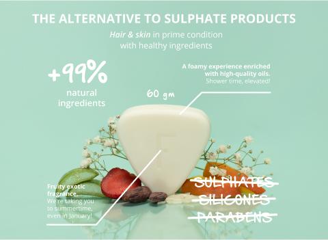 Ingredients solid shampoo