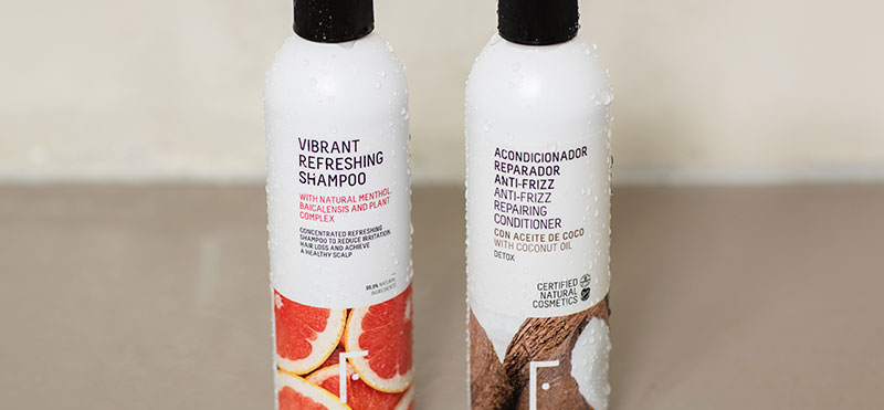 Sin sulfatos ni siliconas Freshly Cosmetics