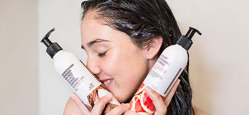 Haircare detox plan
