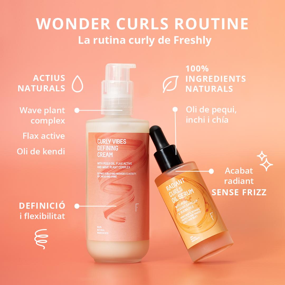 Rutina Curly|Freshly Cosmetics