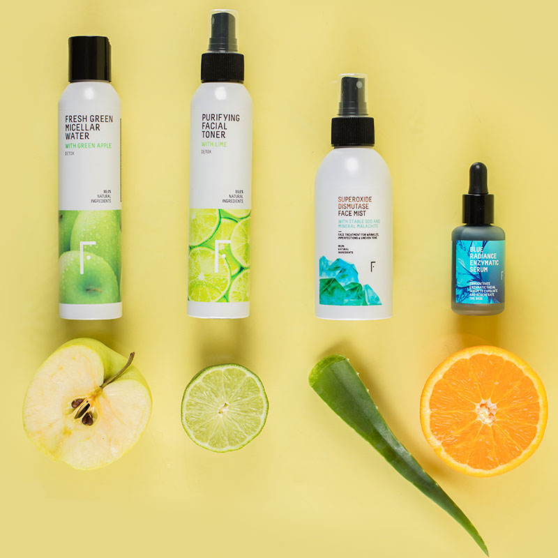 Shine-Control Pack For Oily Skin   Freshly Cosmetics