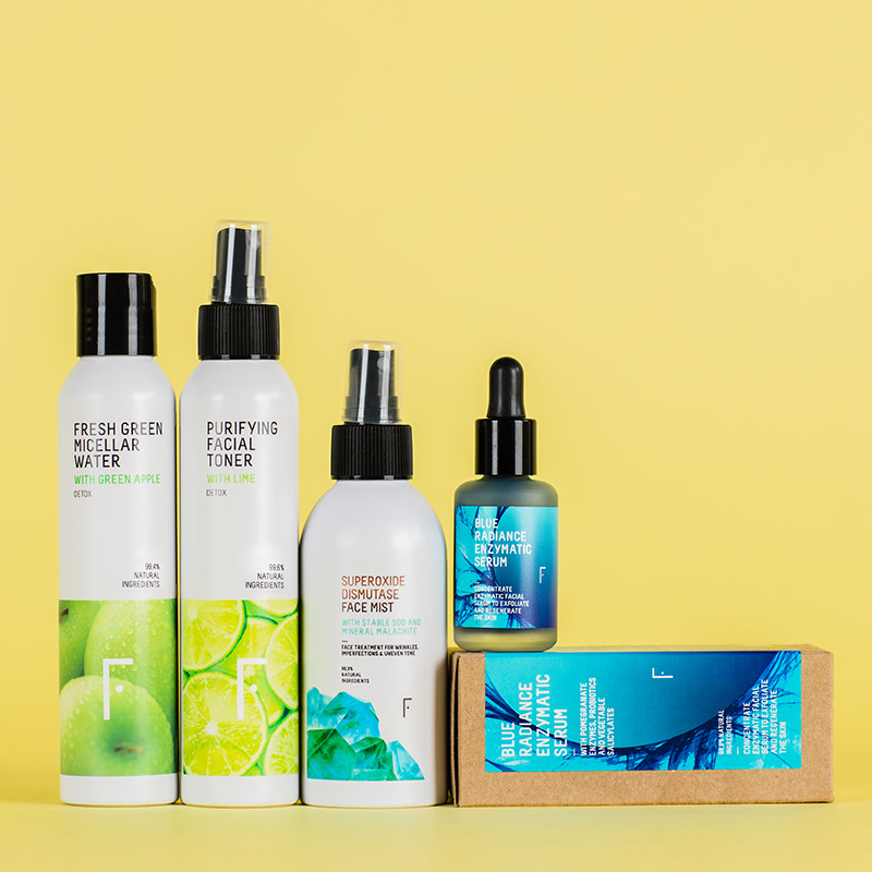 Shine-Control Pack For Oily Skin | Freshly Cosmetics