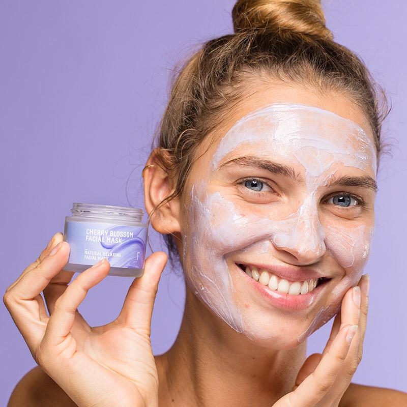 Cherry Blossom Facial Mask | Freshly Cosmetics
