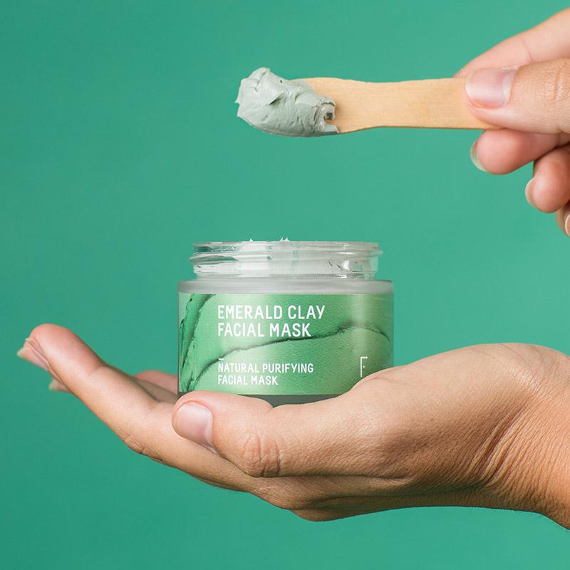 Emerald Clay Facial Mask   Freshly Cosmetics