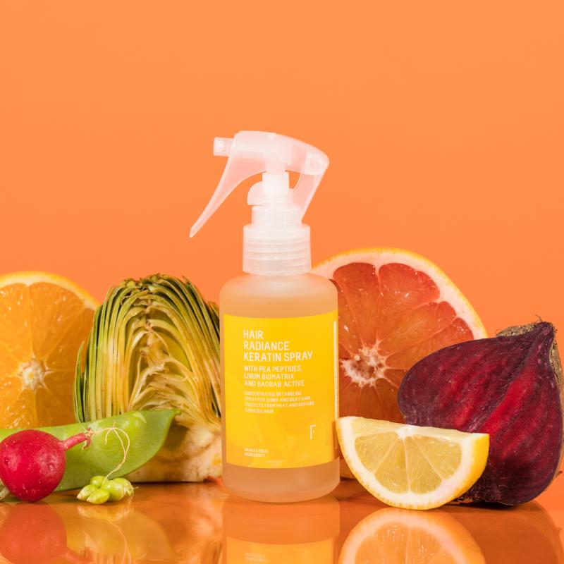 Hair Radiance Keratin Spray   Freshly Cosmetics