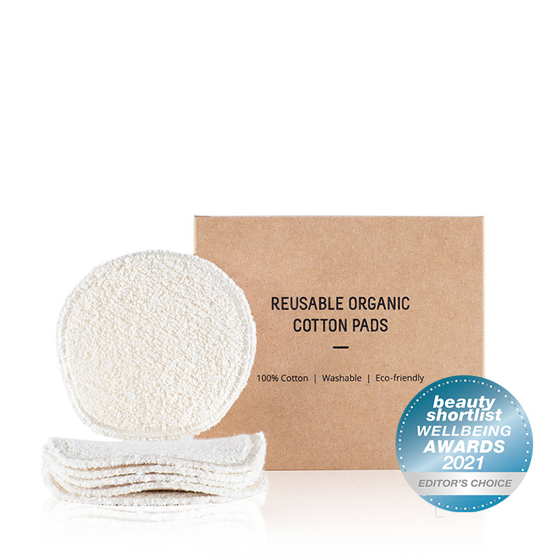 Reusable Organic Cotton Pads | Freshy Cosmetics