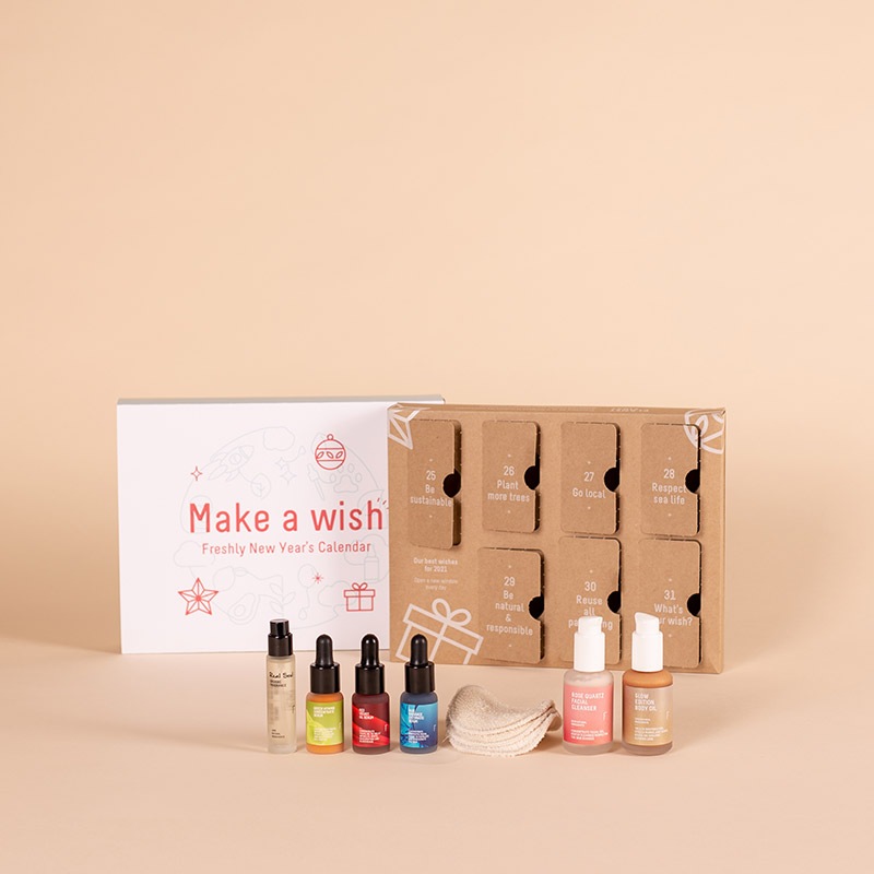 Calendario Make a wish  | Freshly Cosmetics