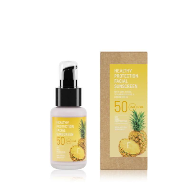 Healthy Protection Facial Sunscreen   Freshly Cosmetics