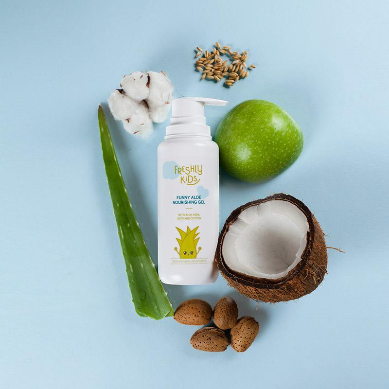 Funny Aloe Nourishing Gel | Freshly Cosmetics