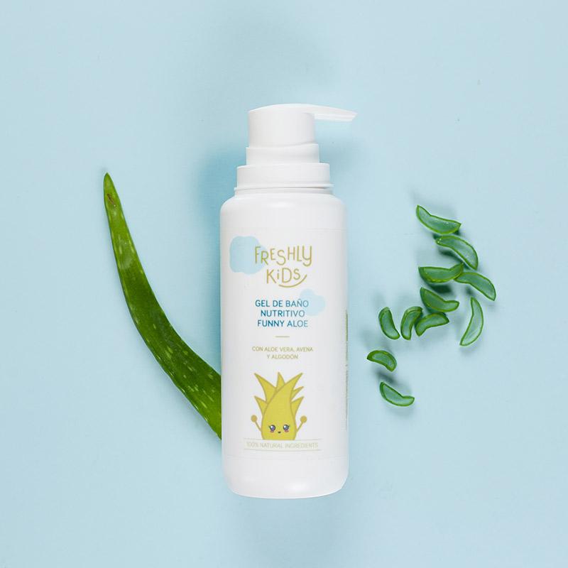 Gel De Baño Nutritivo Funny Aloe | Freshly Cosmetics