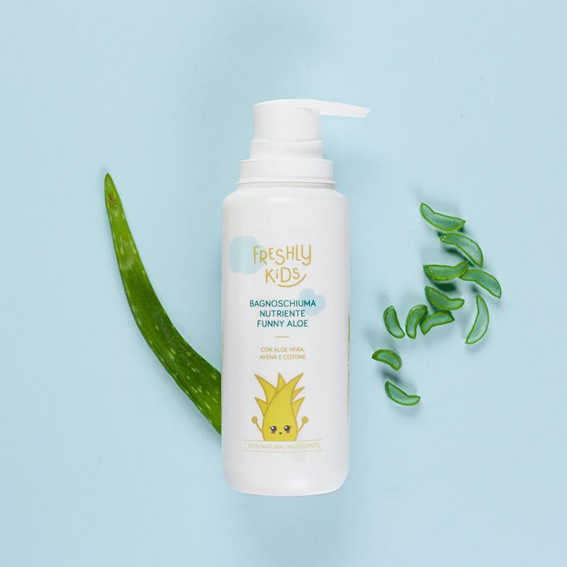 Bagnoschiuma Nutriente Funny Aloe | Freshly Cosmetics