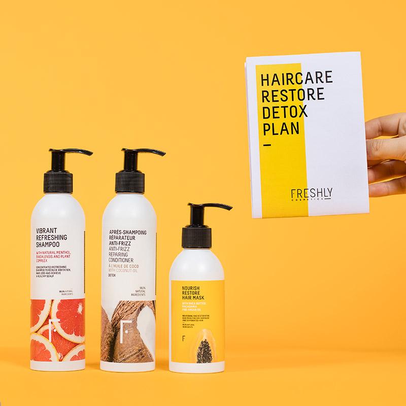 Haircare Restore Detox Plan   Freshly Cosmetics