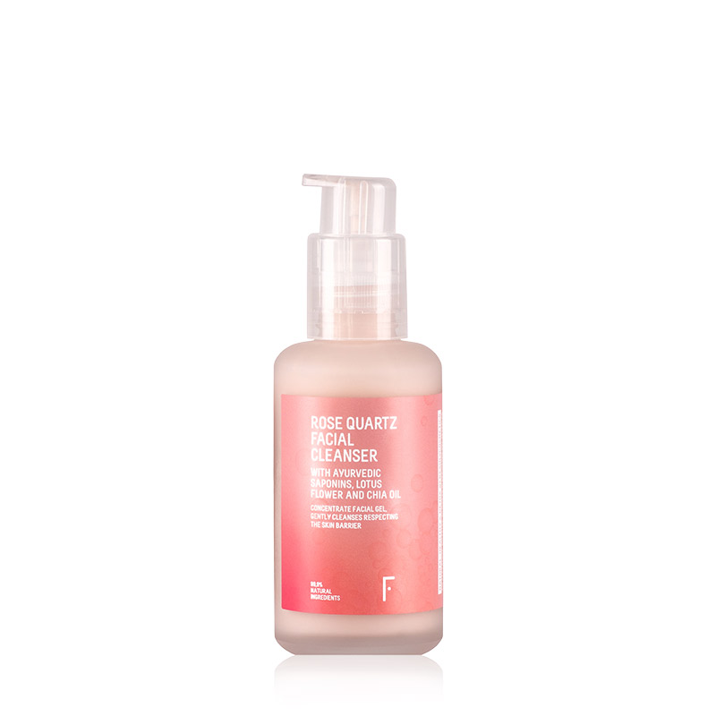 Rose Quartz Facial Cleanser | Freshly Cosmetics