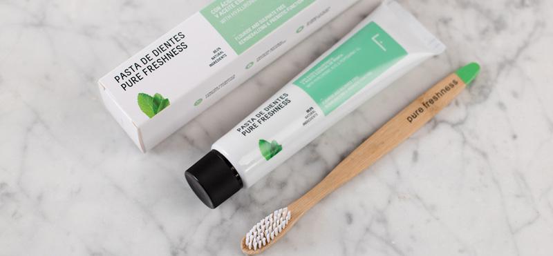 Pure Freshness, la pasta de dientes NATURAL que mejora tu