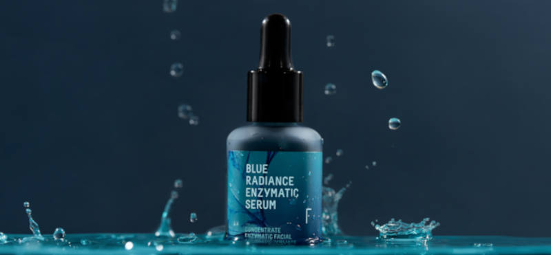 Here's why everyone is talking about the Blue Radiance Enzymatic Serum