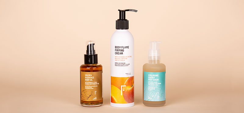 Com combinar el body oil, la body flame i el body sèrum