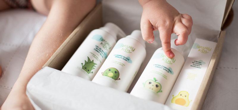 Freshly KIDS, la marca de cosmética natural infantil más saludable