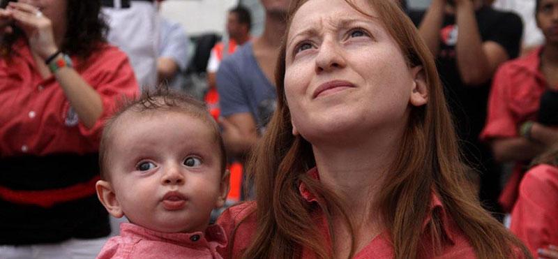 Freshly Families: Maria, Jan y Max, una familia Castellera
