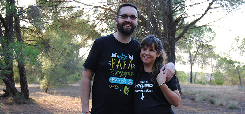 Freshly families: María, Javier e Irai, una familia veggie muy comprometida