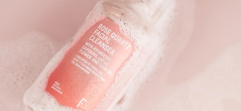 Rose Quartz, o gel de limpeza facial natural que limpa e cuida da tua pele