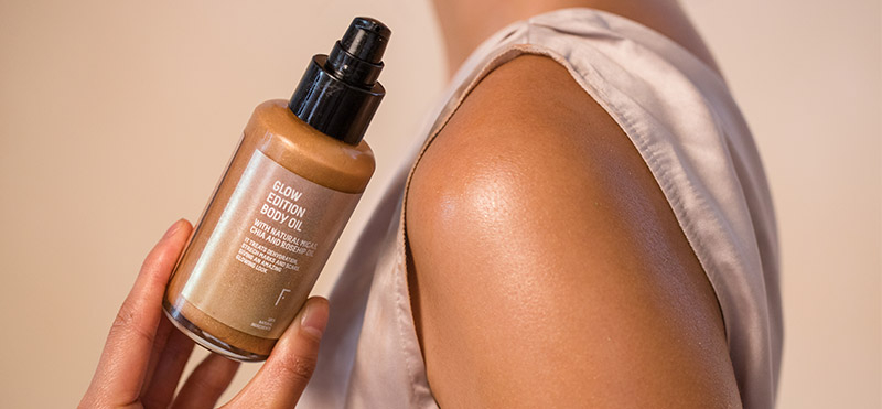 This summer, show off bright, golden skin with the Glow Edition Body Oil